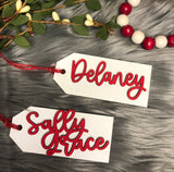Personalized Stocking Hangers or Gift Tags (20% off when you order 4+)