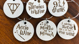 Harry Potter Inspired Drink Charms (set of 6)