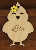 Easter Basket Tag- Baby Chick