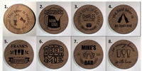 Personalized Round Bottle Opener