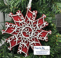 "The Infamous ""F-Flake"" 2020 Ornament"