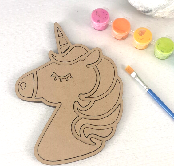 Unicorn Head Mosaic Craft Kit