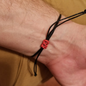 Our Cross and a word Bracelet