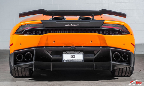 Lamborghini Huracan 1016 Industries Rear Wing/carbon base