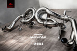 LAMBORGHINI Huracán LP610-4/580 FI EXHAUST CATBACK W/ DECATTED DP- STAINLESS
