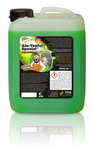 TUGA Devil Special Wheel Cleaner 5 Liter (1.32 Gallon)