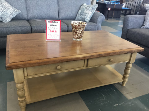Winners only quaint retreat coffee table