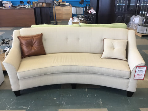 Birchwood Curved Sofa - 7365