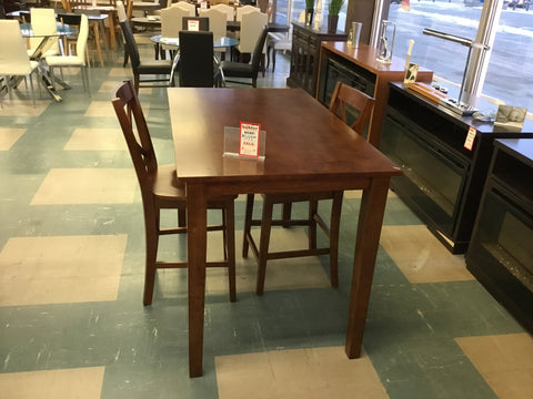 Simplicity Pub height table 2 stools