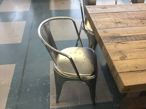 CDI nickel chairs