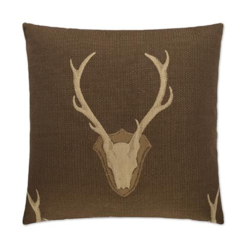 Buck Embroidered Pillows