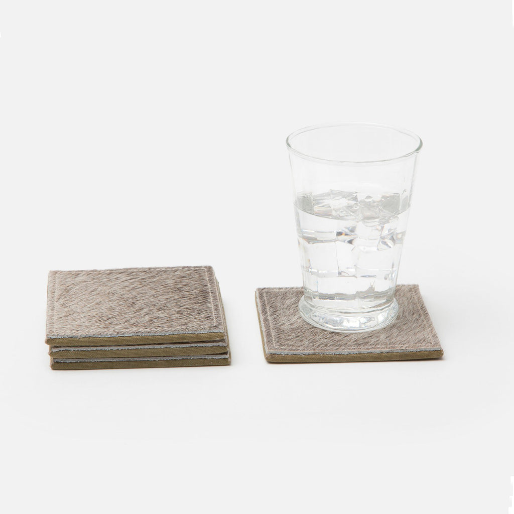 Hide Coasters - Set of 4