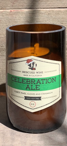 Rescued Wine Celebration Ale Candle - 10 oz