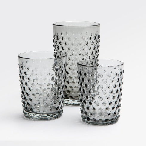 Sonora Grey Glassware - Set of 6