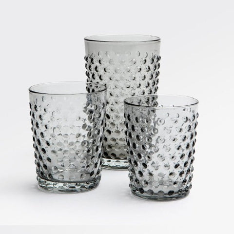 Sonora Gray Glassware - Set of 6
