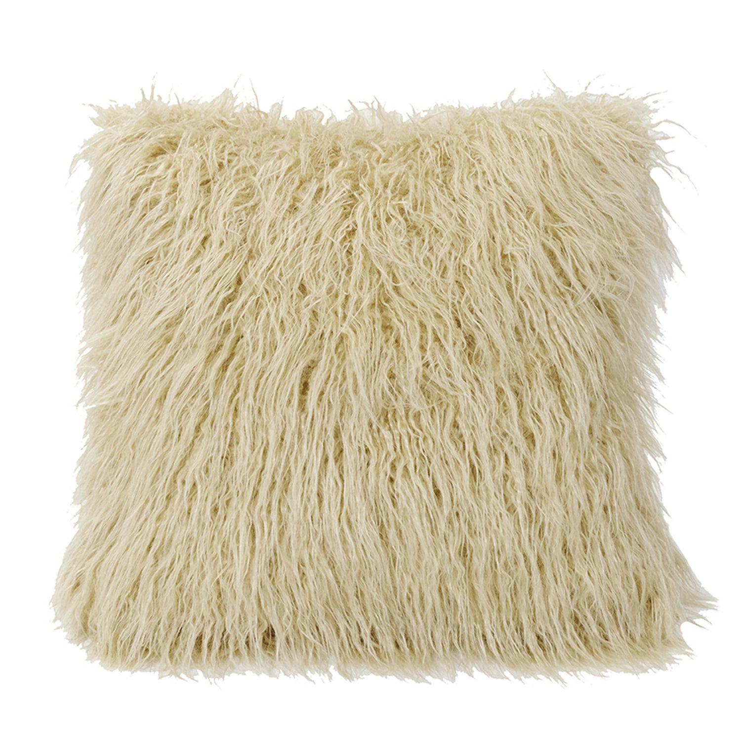 Faux Mongolian Lamb Fur Pillows