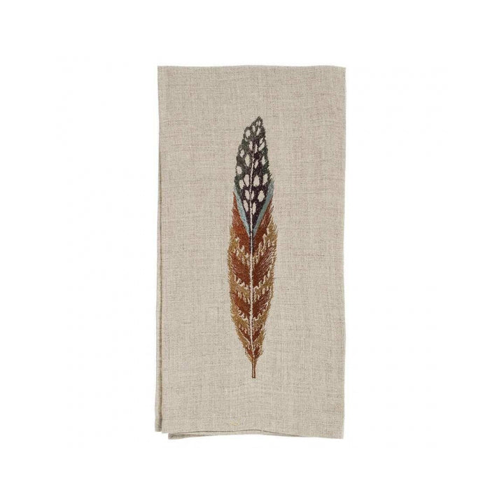 Linen Feather Napkin