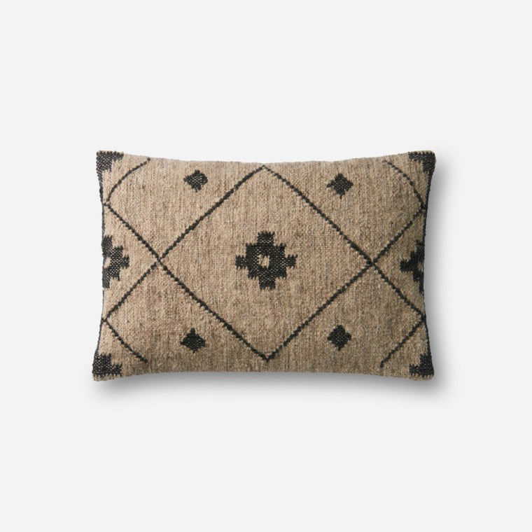 Kilim Wool Pillows - Black