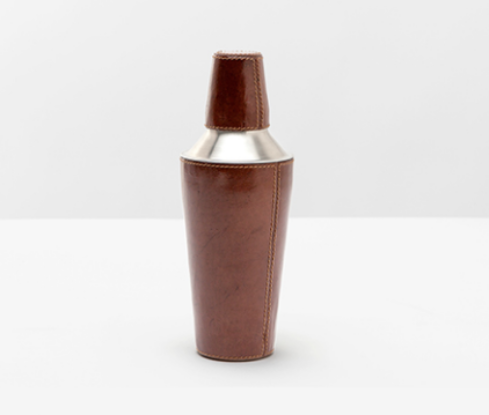 Leather Cocktail Shaker