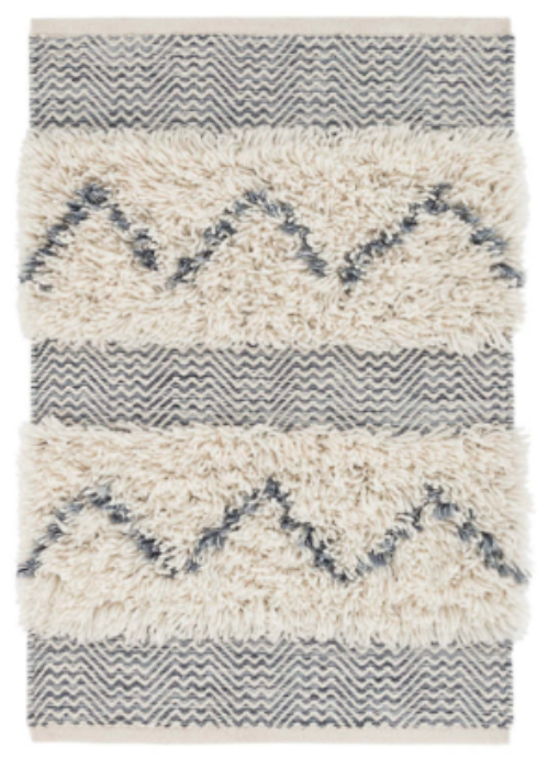Zags Woven Wool Rug