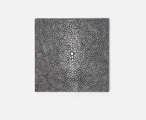 Faux Shagreen Coasters - Set of 4
