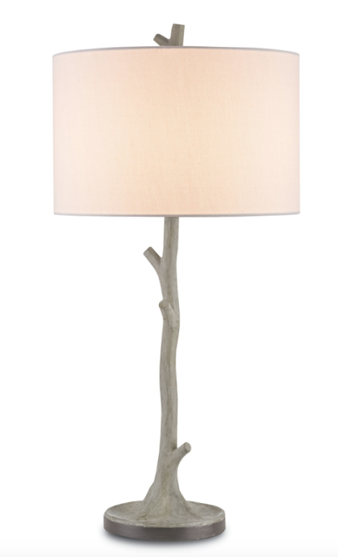 Faux Bois Table Lamp