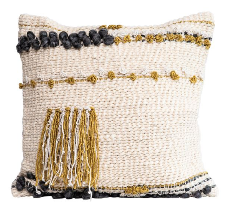 Textured Wool Pillow