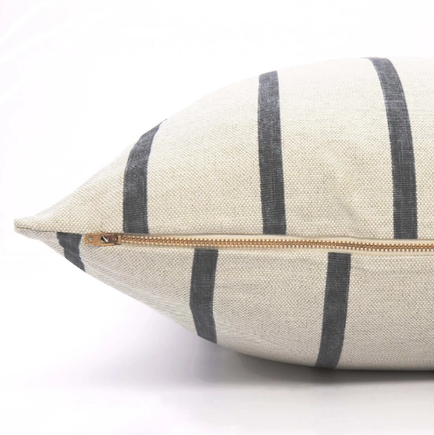 Farmhouse Stripe Dog Bed