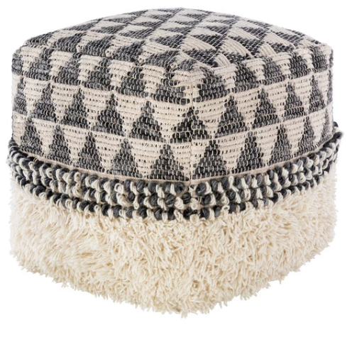 Pinnacles Fringe Pouf