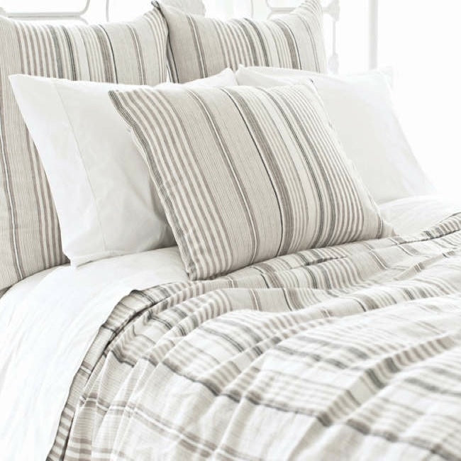 Sierra Striped Linen Duvet