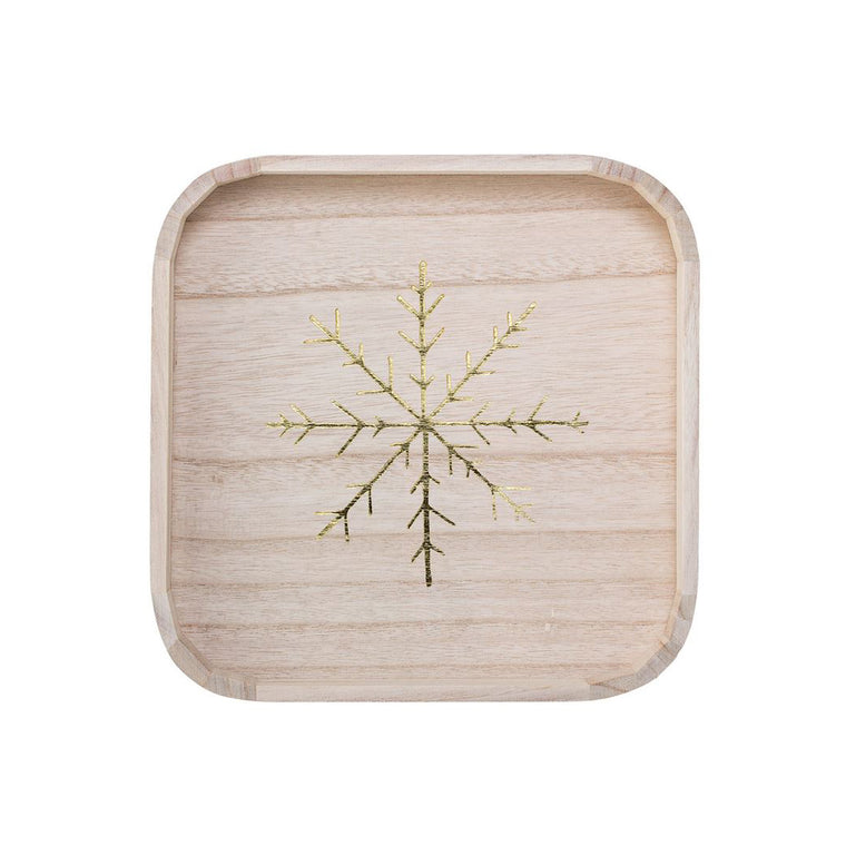 Decorative Snowflake Tray