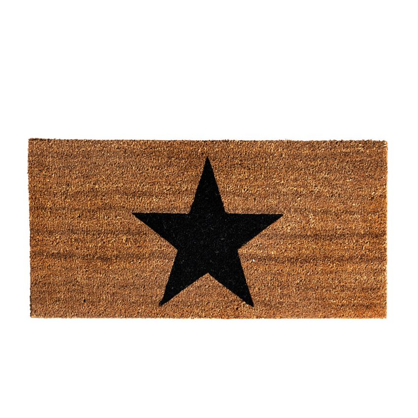 Holiday Star Doormat