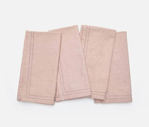 Cotton Canvas Napkins - Set of 4