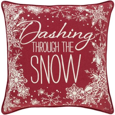 Dashing Through the Snow Pillows