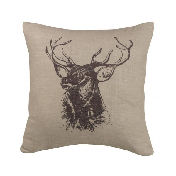 Elk Printed Pillow