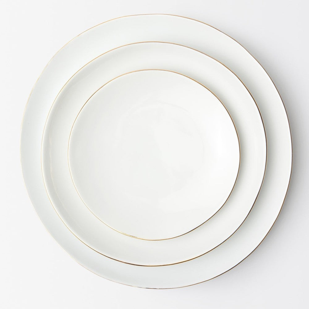 Gold Rim Dinnerware