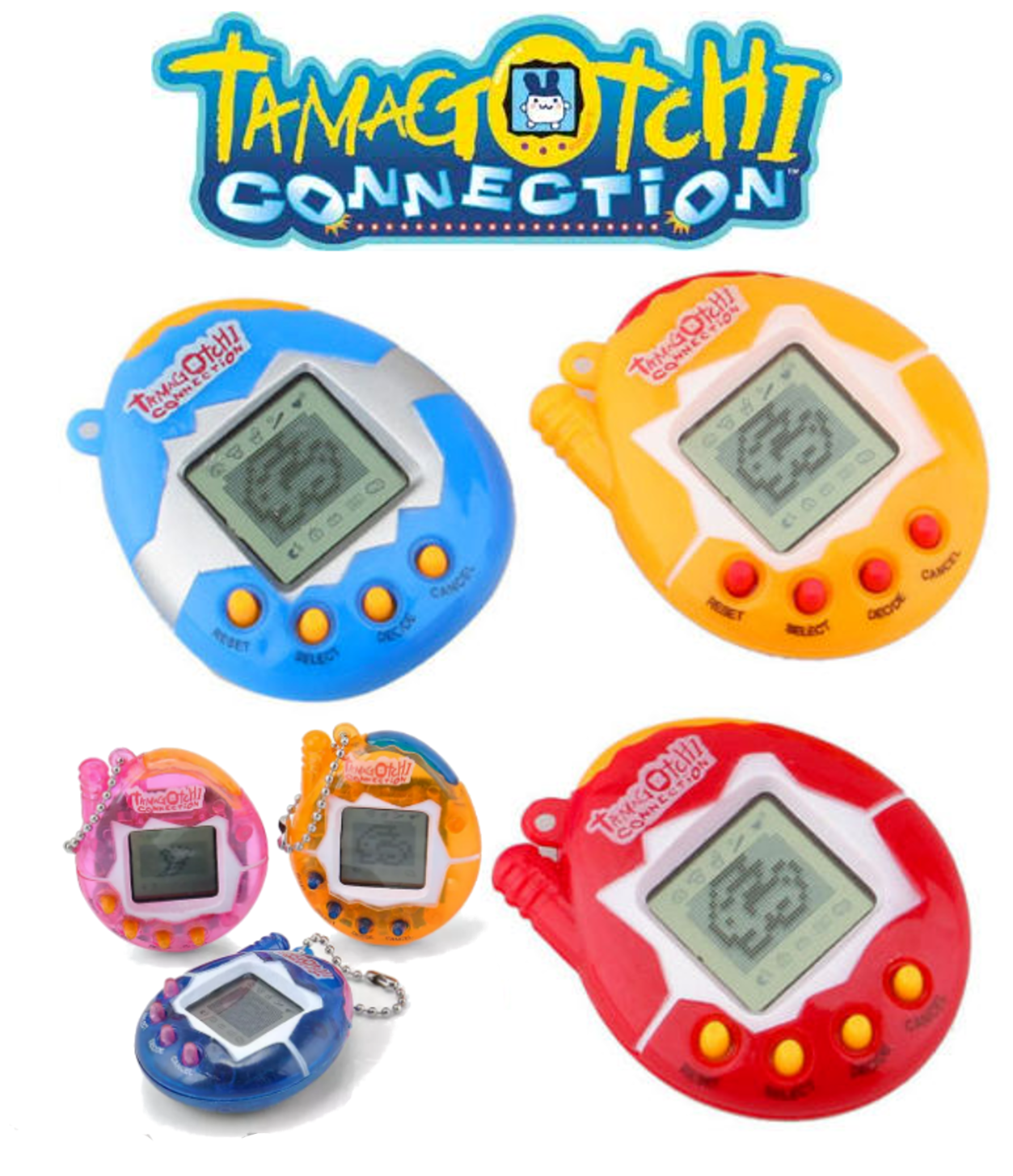 Tamagotchi - 49 Pets in One