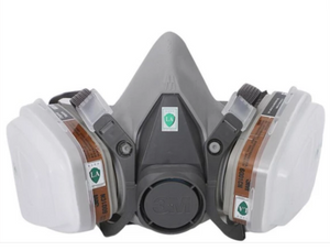 3M 6200 17 In 1 Gas Mask