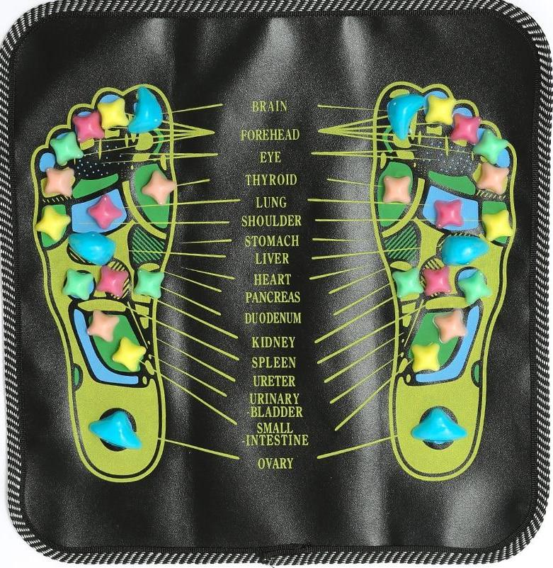 Reflexology Acupuncture Foot Massager Cushion