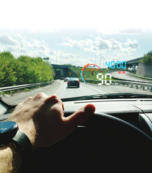 Heads Up Display For Car Motorcycle