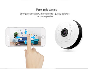 Fisheye 360° Smart Home Camera Panoramic HD CCTV Camera – Fully Geeked