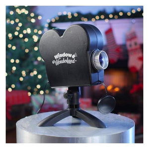Christmas Window Wonderland Projector