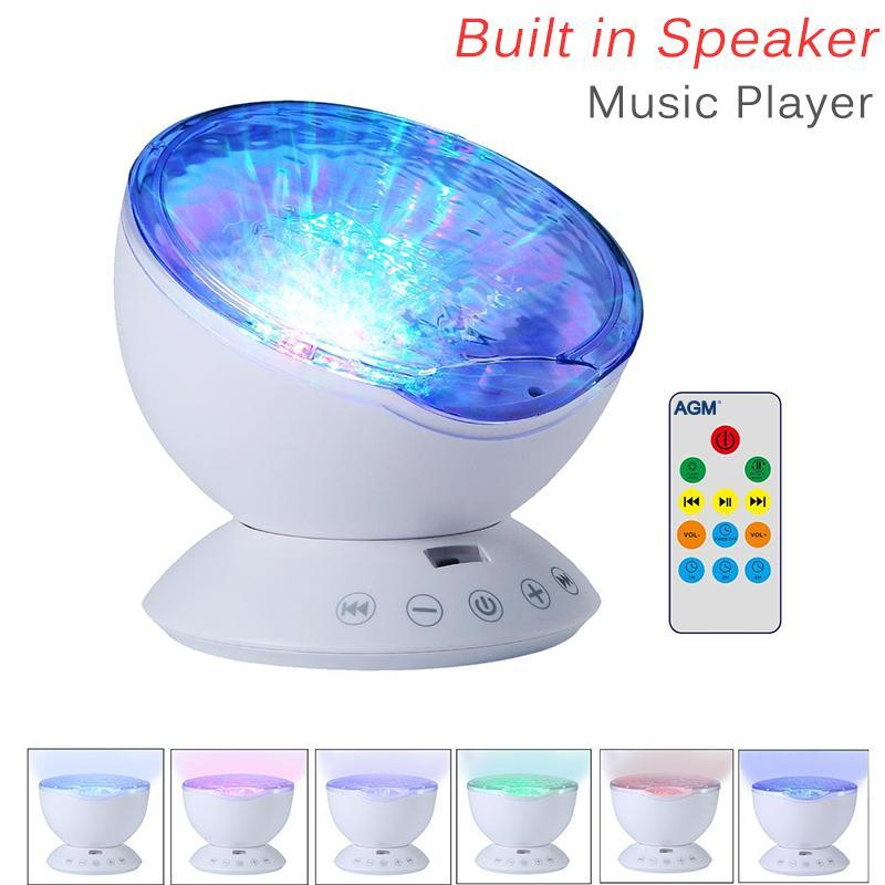 Ocean Wave Night Light Projector