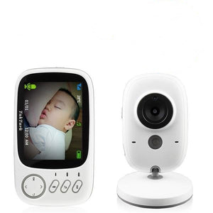 "HD Baby Monitor - Wireless Nanny Cam 3.2"" - Two Way Intercom"