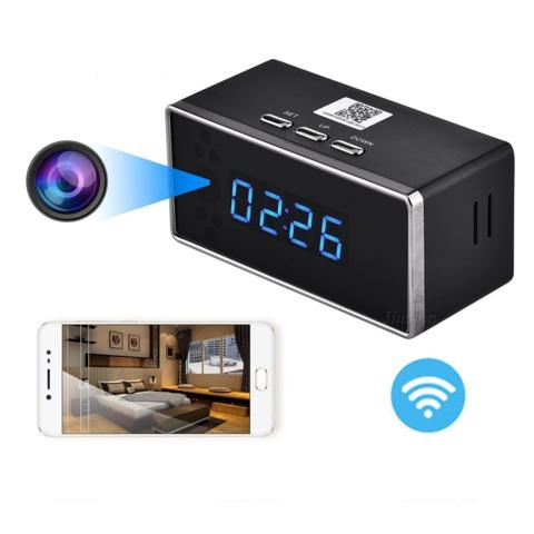 Wireless Alarm Clock with HD 1080P Hidden Camera