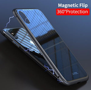 2 in 1 Magnetic Adsorption iPhone Case