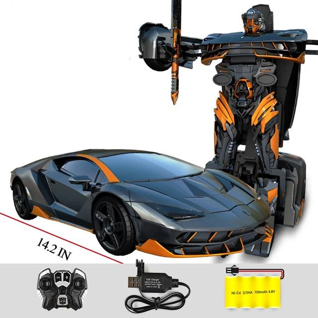 Remote Control Transformer RC Action Figures (Deluxe Edition)