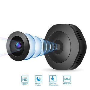 X201 Motion Sensor Mini HD Camera with Magnet