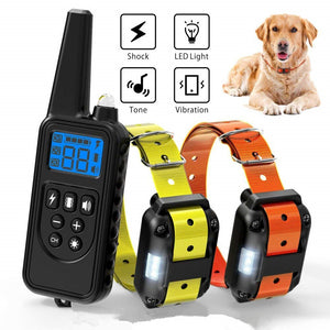 Waterproof Rechargeable Dog Training Collar