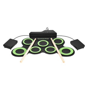 Electronic Drum Pad Set